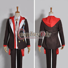 Cosplaydiy Amnesia Toma Deluxe Suit School Uniforms Cosplay Costumes Fancy Hoodies Adult Halloween Custom Made D0805