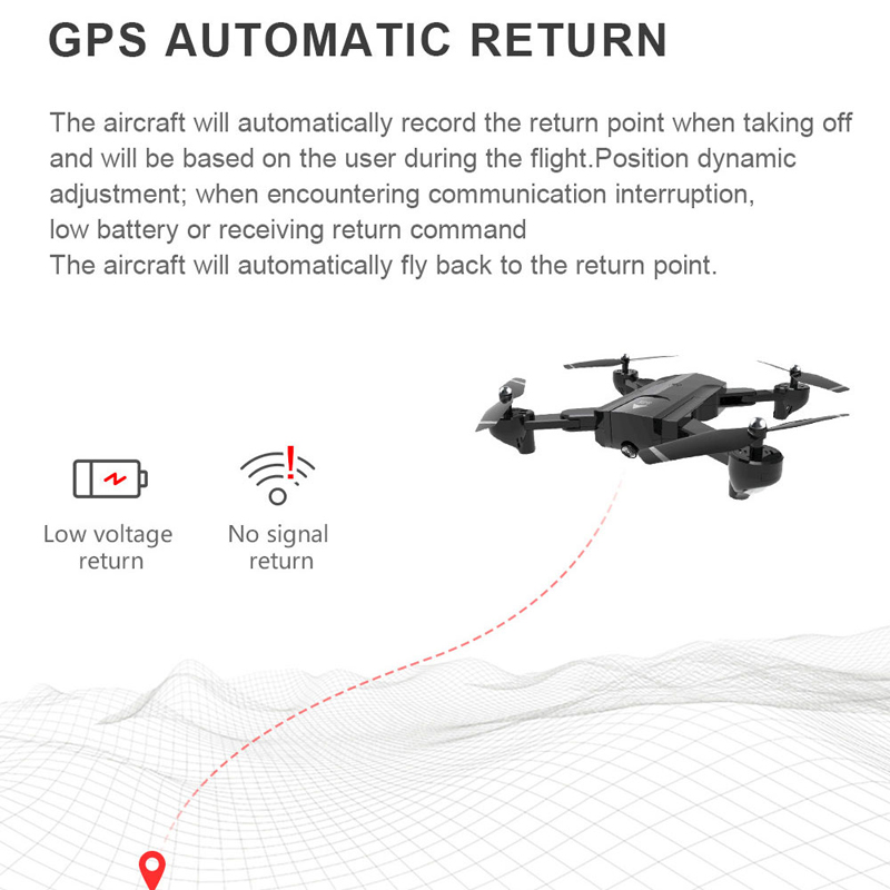 SG900 S SG900S GPS Faltbare Profissional Drohne mit Kamera 1080P HD Selfie WiFi FPV Weitwinkel RC Quadcopter Hubschrauber Spielzeug f11 - 4