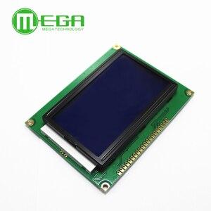 Image 2 - Nouveau 10 pièces 12864 128x64 points graphique couleur verte rétro éclairage Module daffichage LCD pour arduino framboise pi