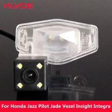 KLYDE Car HD CCD Rear View Reverse Night Vision Camera For Honda Fit Jazz Pilot Jade Vezel Insight Integra Elysion Element CRV