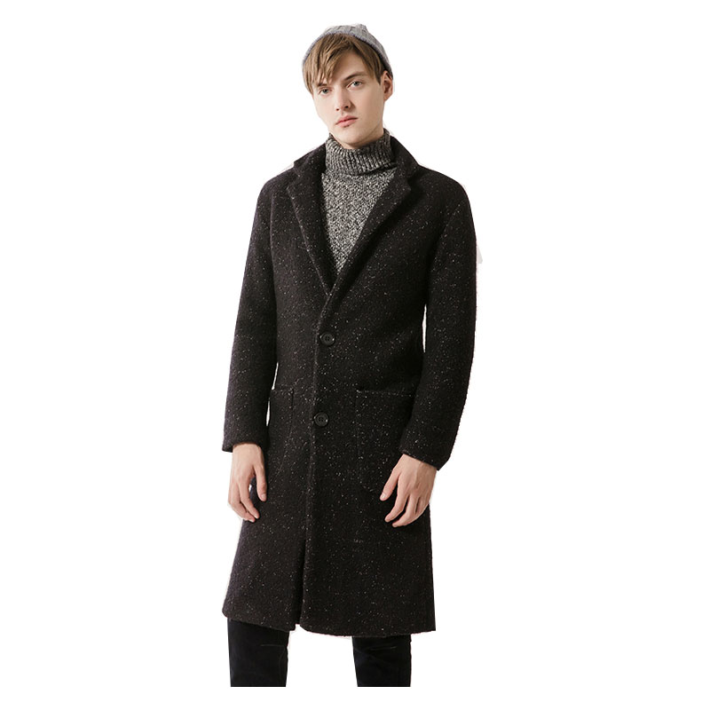 New Arrival Slim Coat Autumn Jacket Trench Coat Men Brand Clothing Fashion Mens Long Coat Top Male Overcoat M-3XL