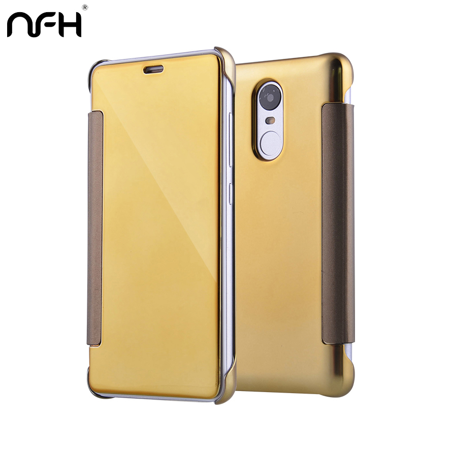 new concept 6dee6 a08f3 US $4.94 |Clear View Window Smart Cover For Xiaomi Redmi Note 3 Pro Prime  Case UV Mirror Screen Flip Leather Xiaomi Redmi Note 3 Case Capa-in Fitted  ...
