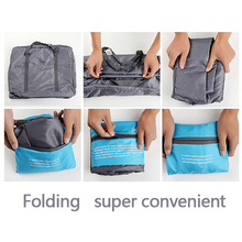 Large Capacity Foldable Nylon Duffel Bag