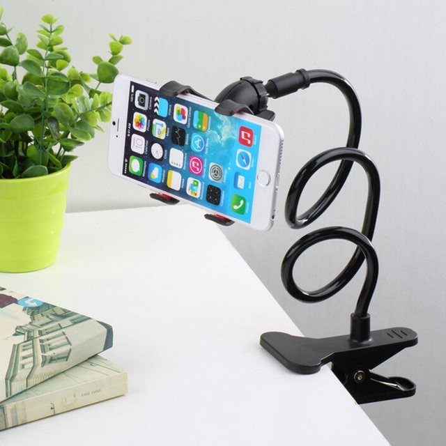 360 Universal Flexible Lazy Bed Desktop Car Stand Mount Holder For Mobile Phones Samsung LG HTC Blackberry NOKIA phone bracke