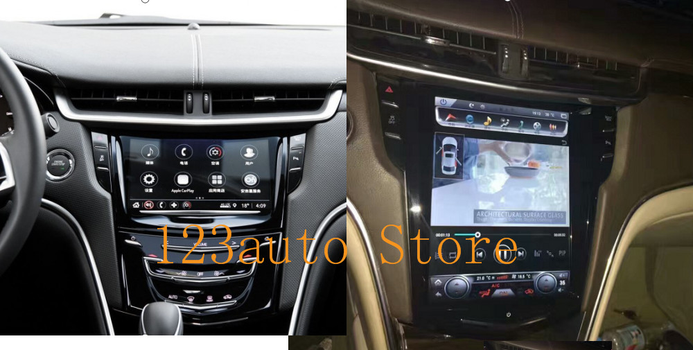 10 4 '' Vertical screen Tesla Style Android 7 1 Car DVD GPS