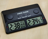 Yernea Watch New chess game of Chinese CHESS TABLE SET TIMER Countdown Timer multiple Electronic Games Go Game PQ868