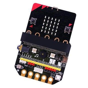 Básico: Placa de expansão Bit IO Tipo horizontal Pinboard Microbit Python Development Board Para Micro: Bit 1