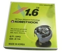 KOBEST HOOK Original There contains 1pc rotary hook+1pc bobbin case+1pc iron bobbin in the box.