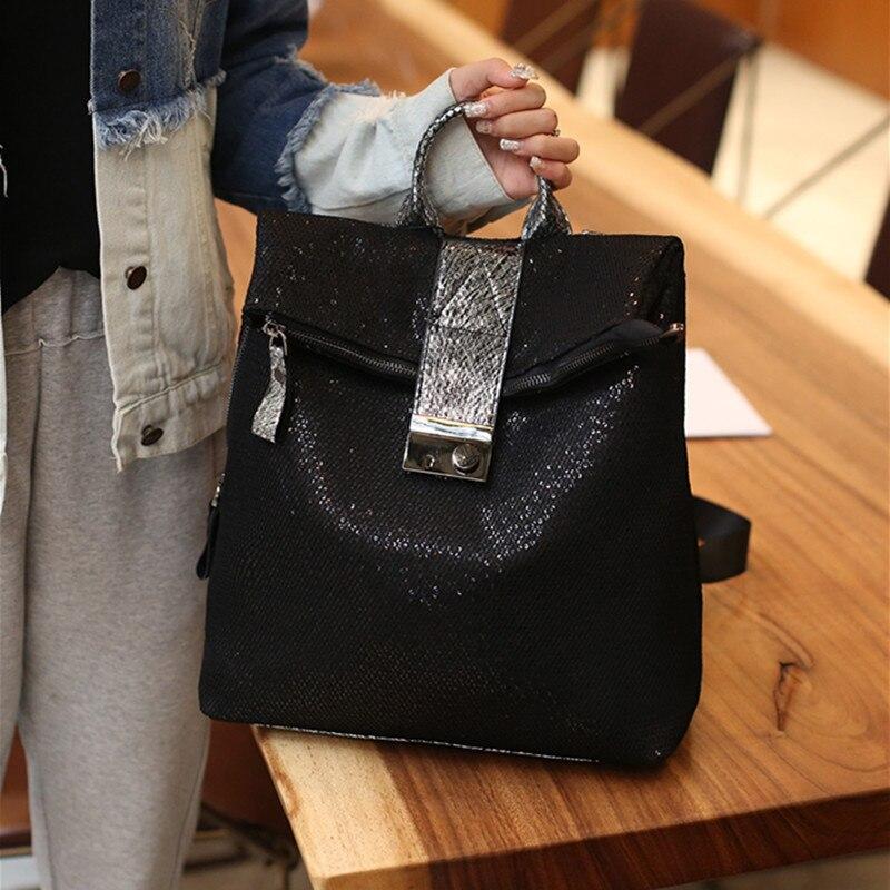 Designer Backpack Famous Barnd Women Bags Female New Fashion Backpack Casual Anti-theft Lock Travel Backpack Mochila Feminina