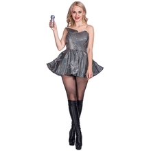 memune Funny Fashions Womens Retro Silver Disco Dress Theme Party Halloween  Costume. US  23.25   Set Free Shipping 79247d15b689