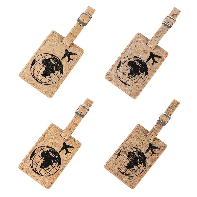 Fashion PU Travel Luggage Tags Labels Strap Name Address ID Suitcase Bag Baggage