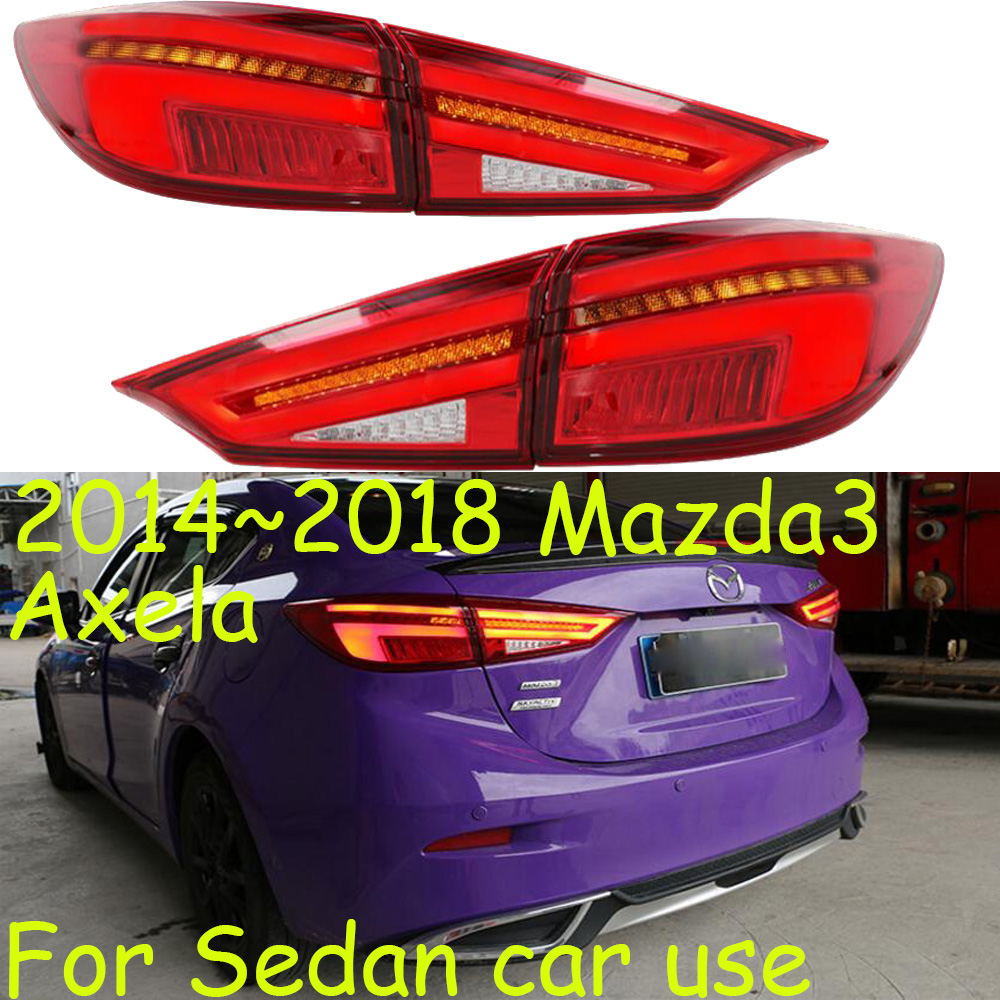 2014 2018year tail light for mazda3 mazda 3 axela taillight car accessories LED DRL Taillamp for