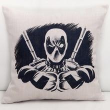 Deadpool Cushion Cover #2