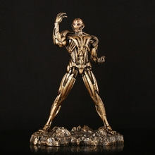 29Cm 1/6 Ultron Resin Material Iron Man Imitation Copper Action Toy Figures 1.3 Kg