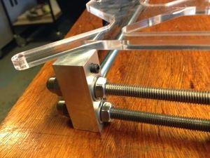 Image 3 - Imprimante 3D reprap mendel prusa CNC métal coin kit de support plus robuste reprap prusa i3 coin aluminium pièces ensemble