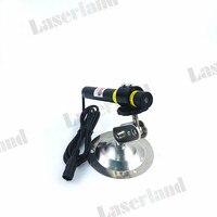 16 120mm 405nm 20mW Violet Blue Laser CROSS Module Diode LD Adapter