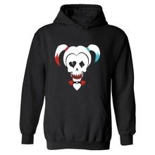 Kpop DC Suicide Squad Harley Quinn Hooded Men/Women Hoodies in Super Hero Hoodie and Sweatshirt streetwear hoodies clothing