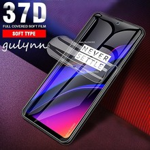 New 37D Full Cover Hydrogel Protective Film For One Plus OnePlus 6T 6 5 5t 7 7Pro Screen Protector Oneplus7 Pro Not Glass