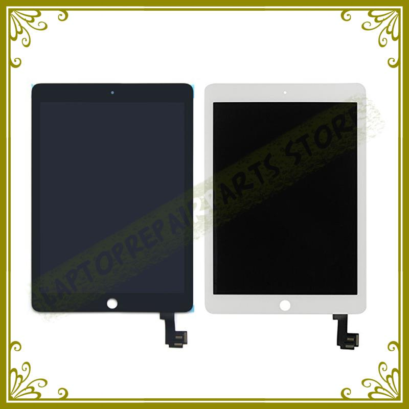 Original New For iPad 6 LCD With Touch Screen Assembly For Ipad Air 2 Lcd Screen And Digitizer A1567 A1566 Replacement