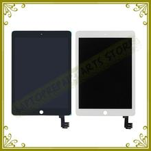 Nuevo Original Para iPad 6 LCD Con el Montaje de la Pantalla Táctil para El Ipad de Aire 2 Pantalla Lcd Y Digitalizador A1567 A1566 reemplazo