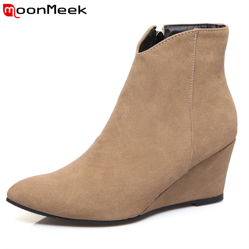 Popular Plain Ankle Boots-Buy Cheap Plain Ankle Boots lots from ...
