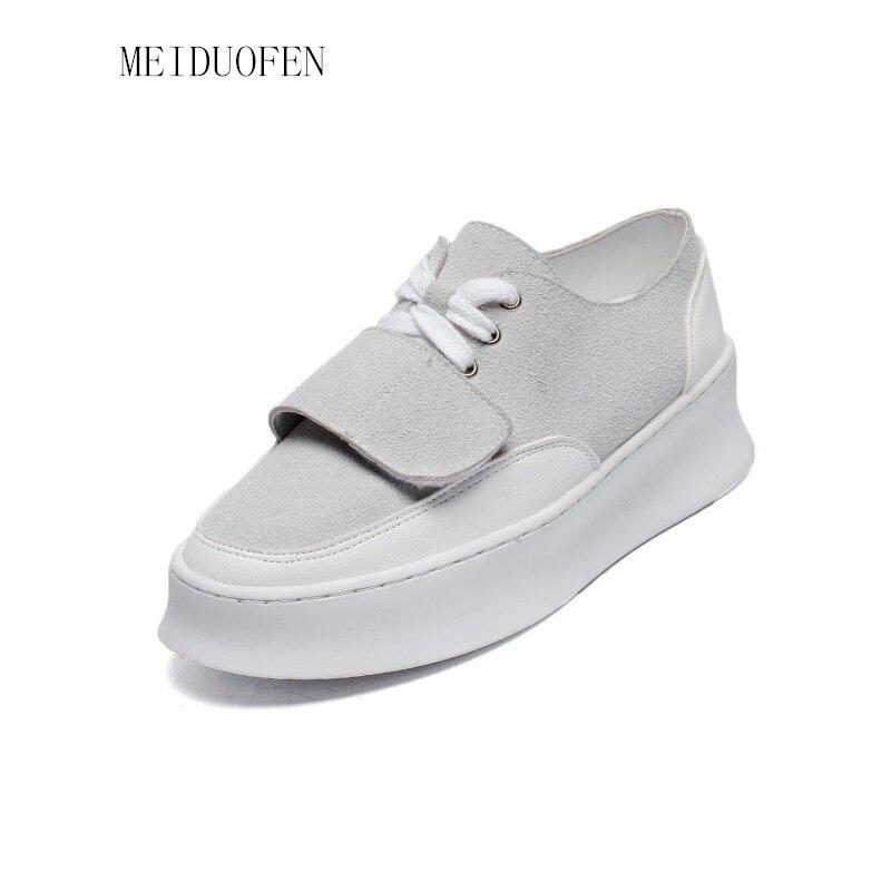 Spring Autumn Women Sneakers Fashion Shoes for Women White Shoes Creepers Platform Shoes Outdoor Walking Shoes dames schoenen