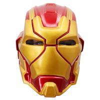 New The Avengers Marvel Superhero Tony Stark Iron Man Cosplay Mask Weapon Armor LED Helmet Robert Downey Jr PVC Full Head Masks