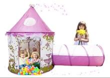 Niños Niño Océano Piscina De Bolas Piscina Game Play Tent Kids Hut Jugar al billar Carpa Carpa infantil Casa de Juego de Interior Al Aire Libre Juguetes Para Bebés