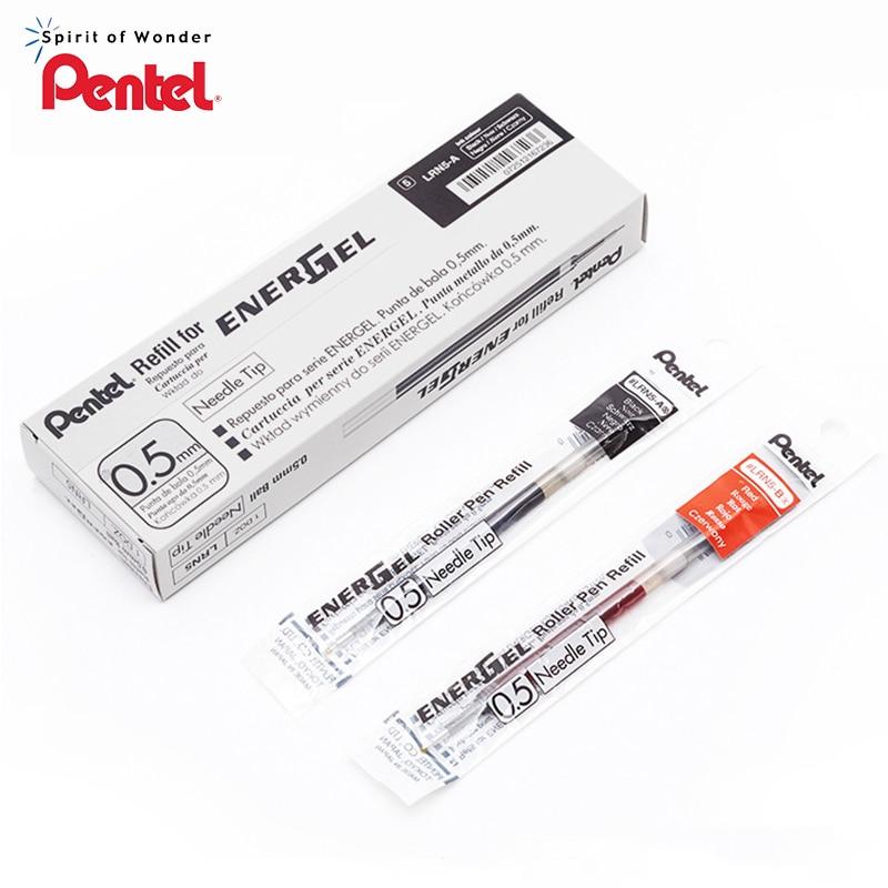 Pentel EnerGel LRN5 Needle-Point Gel Pen Refill - 0.5 Mm Black/Blue/Red For Pentel BLN-75