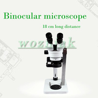 Mobile phone repair magnifying glass microscope Binocular hd 7 45 times Continuous zoom ultra high 18 cm distance