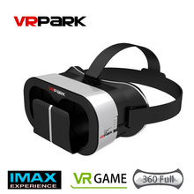 VRPARK V5 Virtual Reality Glasses VR Headset 3D Glasses For 4.0-6.0inch Smartphone Fully Compatible Free Shipping 10000886