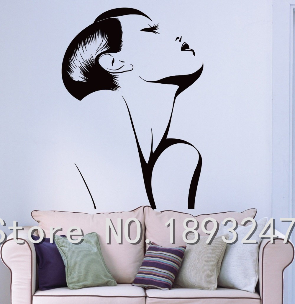 Salon Wall Decor online get cheap hair style salon decor -aliexpress | alibaba