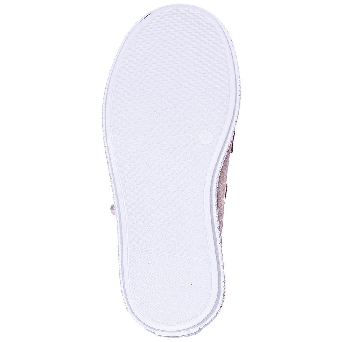KOTOFEY enfants chaussures décontractées 10813962 baskets chaussures de course pour enfants or sport filles en cuir - 5