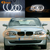 For BMW E87 E88 1 Series 2004 2011 Excellent Ultra Bright Headlight Illumination CCFL Angel Eyes