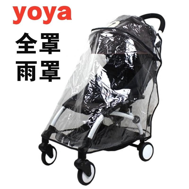 Raincoat For Stroller Wheelchair Pram Yoya Stroller Accessories Yoyo Stroller Rain Cover Universal Baby Throne Carriers
