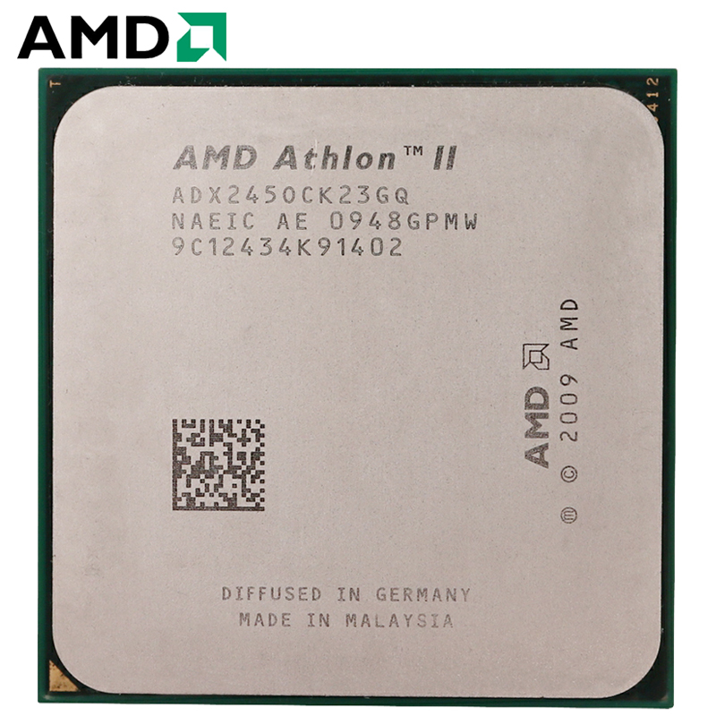 AMD Athlon II X2 245 65W 2.9GHz 938-pin Dual-Core CPU Desktop Processor X2 245 Socket AM3 AM2+