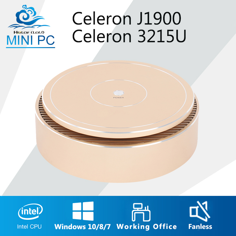 Mini PC Intel Celeron J1900 3215U Mini Computer Office Desktop PC Nettop 4GB RAM ddr3 nuc HDMI SPDIF free Wifi Fanless