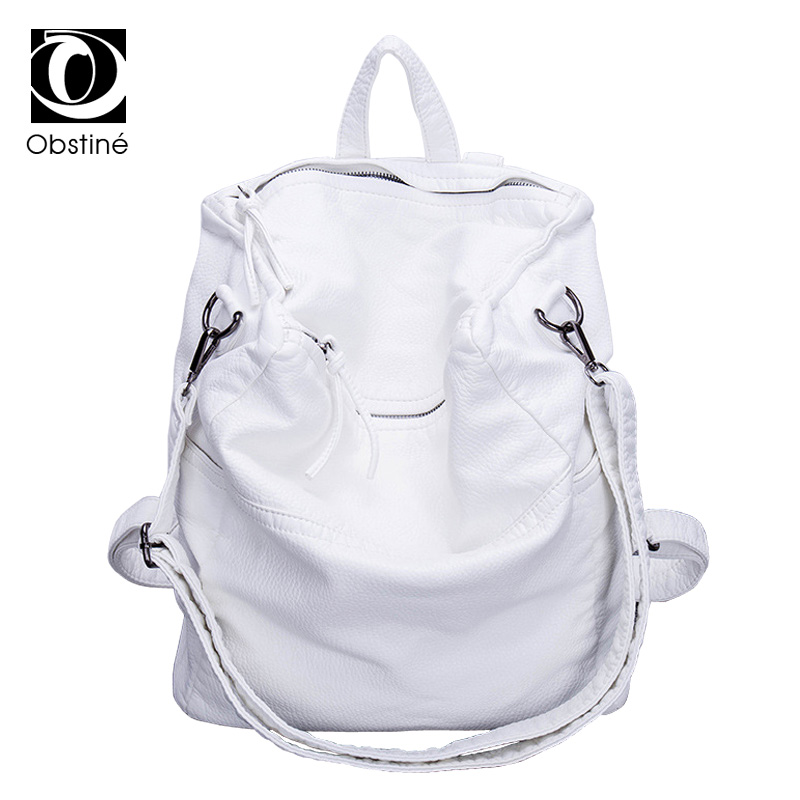 Hot Sale Soft PU Leather Backpack Women Solid Softback Zipper Rucksack Bags Casual Backpacks Simple Style Travel Shoulder Bag война блокада я и другие мемуары ребенка войны