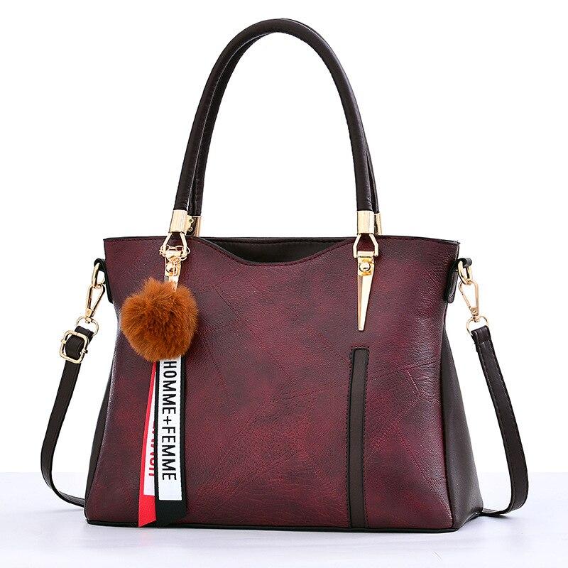 73673af93 2019 Burgundy red caqui Las De Lujo Marcas Cuero Mano Para Mujeres azul Moda  Calidad negro Bolsas Gykaeo Alta Famosas brown Bolsos Bolso Diseñador  pqMVzUGS