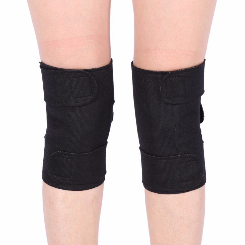 1 Pair Tourmaline Self-heating Magnetic Therapy Knee Protective Belt Arthritis Brace Support joelheira magnética alívio