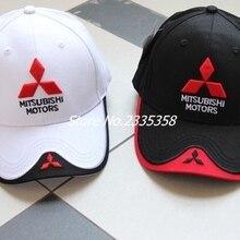 572952c9ca2 new summer whosesale high quality Embroiderid Mitsubishi baseball hat cap  car logo moto caps hats(