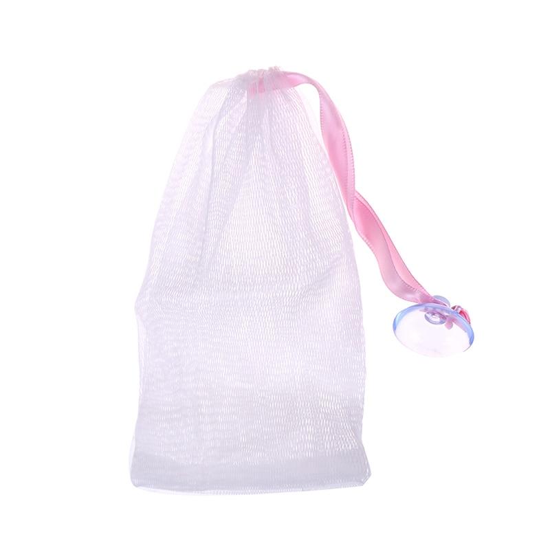 1 Pc Hängen Schäumen Netto Bad Dusche Seife Net Für Männer Frauen Weiche Seife Blasen Mesh Tasche Mesh Net Für Schäumen Reinigung Neueste Mode