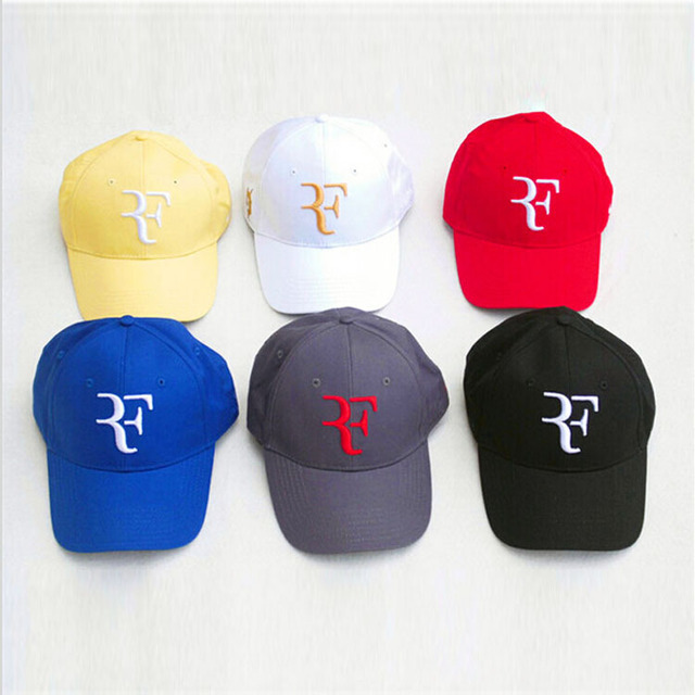 Roger Federer RF brand new leisure tennis hat gorras planas men and women 9  colors fashion design famous hip hop snapback caps 539684fea2f