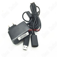 50pcs Free Shipping Original Somatosensory Adapter Charger Power Supply With USB Adapter For Xbox360 Kinect