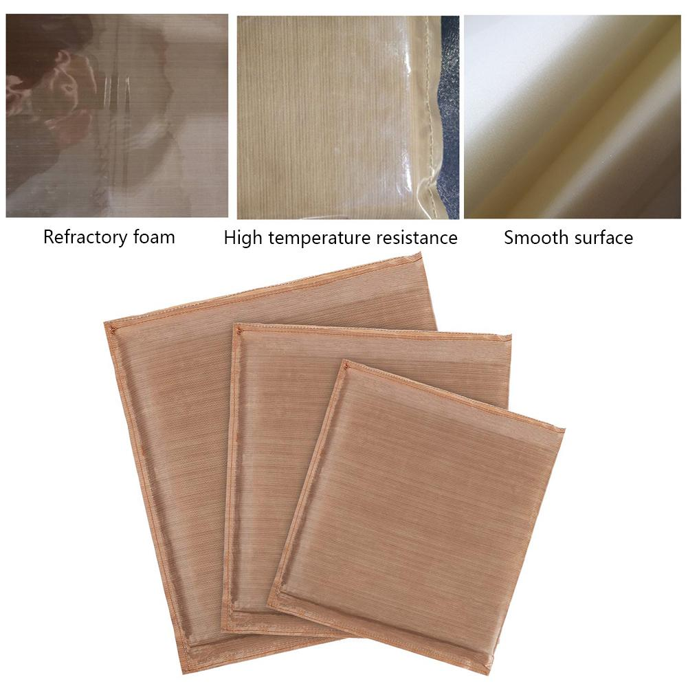 Heat Press Pillow Teflon Pressing Transfer Pillows Cushion Set Iron Pillow Household Products 3 Size