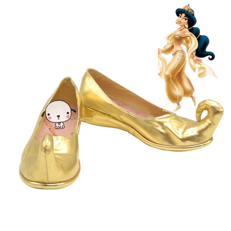 Aladdin and the magic lamp Princess Jasmine Cosplay Shoes Boots