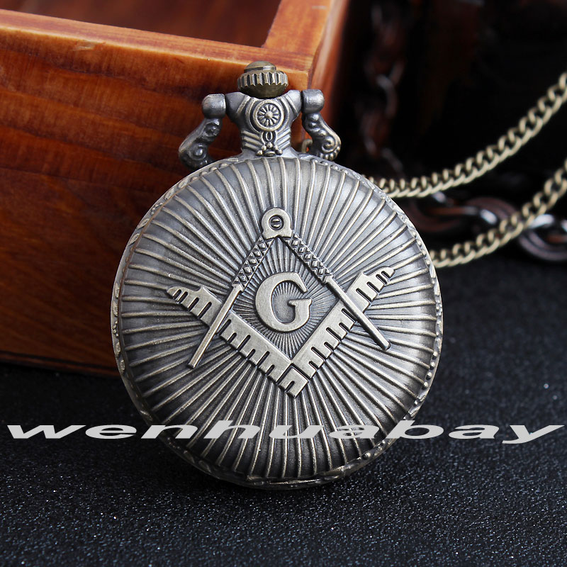 2015 fashion quartz Masons Freemasonry pocket watch woman classic vintage antique Pendant G fob watches ancient bronze classic вытяжка gorenje dt6sy2b