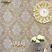 Beibehang Suede Fringe Curve European Wallpaper For Living Room Bedroom Sofa Tv Backgroumd Of Wall Paper