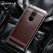 AKABEILA Siliconen Telefoon Cover Case Voor ZTE Axon 7 A2017 Axon7 2017 5.5 inch Case Soft TPU Lichee Cover Mobiele tas(China)