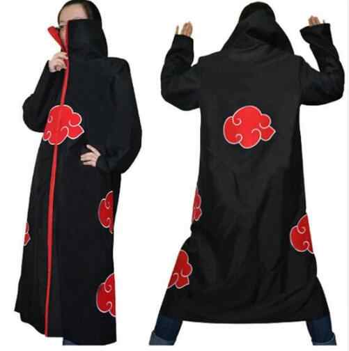 Anime Naruto Cosplay Kostüm Akatsuki Mantel Hoodie Naruto Uchiha Itachi Anime Cosplay Kostüm